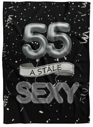 Deka Stále sexy – Čierna (vek: 55)