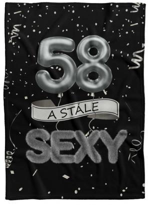 Deka Stále sexy – Čierna (vek: 58)