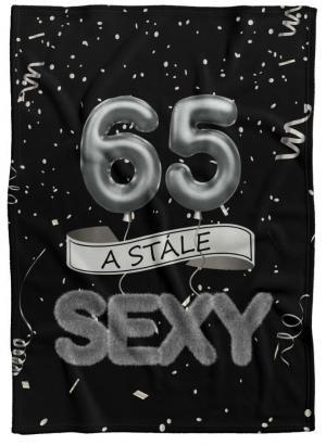 Deka Stále sexy – Čierna (vek: 65)
