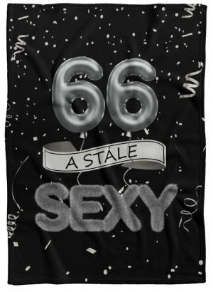 Deka Stále sexy – Čierna (vek: 66)