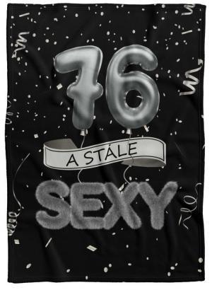 Deka Stále sexy – Čierna (vek: 76)