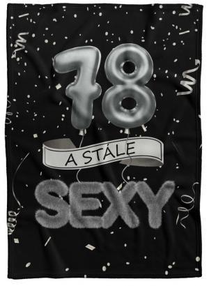 Deka Stále sexy – Čierna (vek: 78)