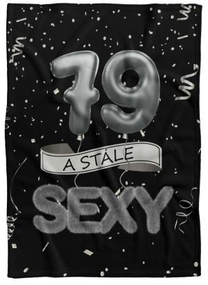 Deka Stále sexy – Čierna (vek: 79)