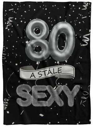 Deka Stále sexy – Čierna (vek: 80)