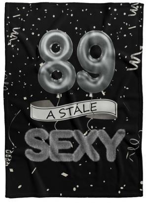 Deka Stále sexy – Čierna (vek: 89)