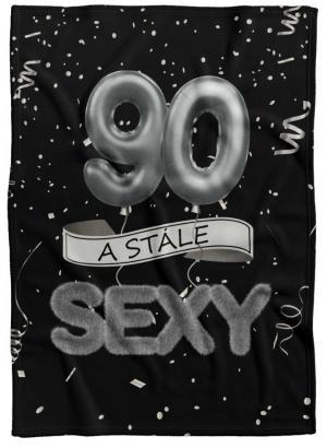 Deka Stále sexy – Čierna (vek: 90)