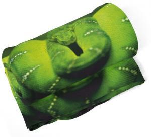 Deka Zelený had  (Rozmer: 150 x 120 cm)