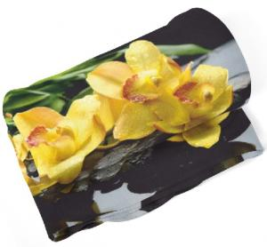 Deka Žlté kvety  (Rozmer: 150 x 120 cm)