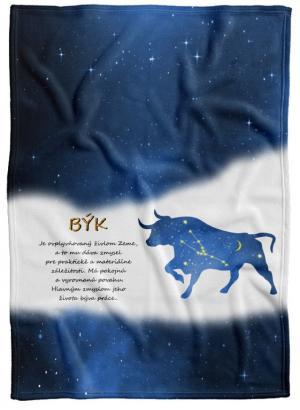 Deka Znamenie Býk (21.4. - 21.5.) - modrá
