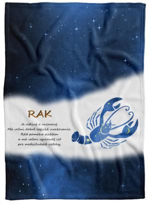 Deka Znamenie Rak (22.6. - 22.7.) - modrá