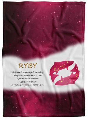 Deka Znamenie Ryby  (21.1. - 20.3.) - červená