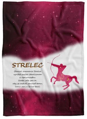 Deka Znamenie Strelec (23.11. - 21.12.) - červená