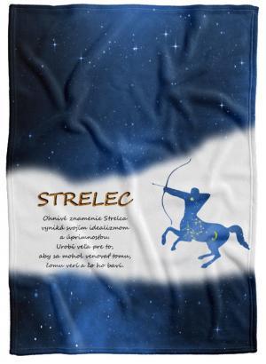 Deka Znamenie Strelec (23.11. - 21.12.) - modrá