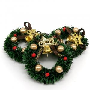 Dekorácie vianočný mini veniec