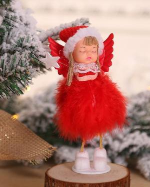 dekoračné anjel Varianta: 1, Farba: biela