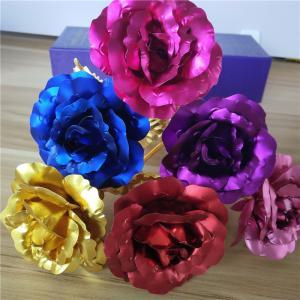 Dekoračné ruže - 6 farieb Farba: zlatá