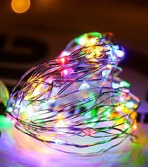Dekoračné svetelná reťaz Farba: viacfarebná