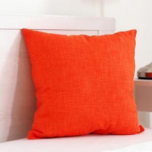 Dekoračný vankúšik BESSY 45 x 45 cm oranžová sada 2 ks