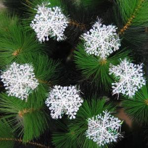 Dekoratívne vianočné vločky - 30 kusov