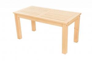 DEOKORK Masívny záhradný stôl z borovice LONDON (32 mm) - rôzne dĺžky 150 cm