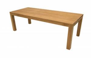 DEOKORK Teakový masívny stôl MONTE CARLO 200 cm