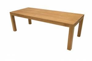 DEOKORK Teakový masívny stôl MONTE CARLO 240 cm