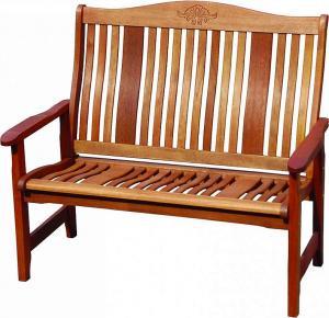 DEOKORK Záhradná lavica pevná dvojmiestna NASHVILLE