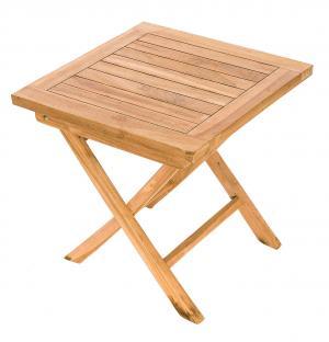 DEOKORK Záhradný odkládací stolík CANADA (teak)