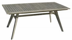 Deokork Záhradný stôl pevný MONTANA 180 x 90 cm