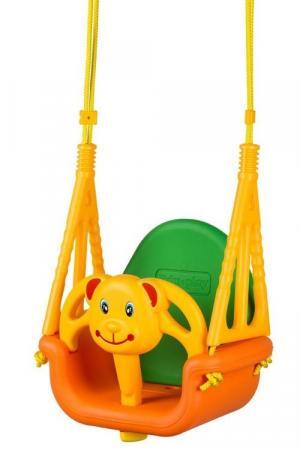 Detská hojdačka 3 v 1 EcoToys medvedík