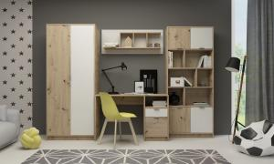 Detská izba - Renar - Carlos (dub artisan + biela). Sme autorizovaný predajca Renar.