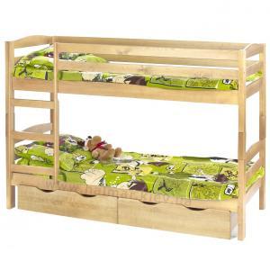 Dětská patrová postel Sam borovice