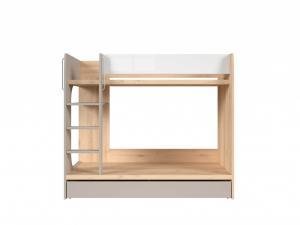 Detská poschodová posteľ - BRW - Namek - LOZ1S/90P. Sme autorizovaný predajca Black Red White.