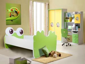Detská posteľ 140x70 cm Žabka