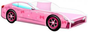 Detská posteľ Car PINK Veľkosť postielky: 160x80
