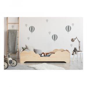 Detská posteľ z borovicového dreva Adeko BOX 10, 80×180 cm
