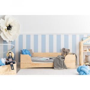 Detská posteľ z borovicového dreva Adeko Pepe Dan, 80 x 180 cm