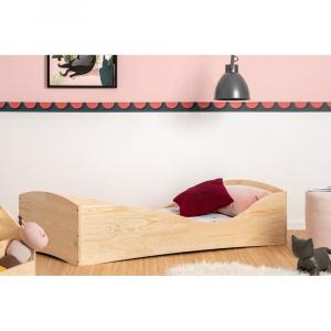Detská posteľ z borovicového dreva Adeko Pepe Elk, 80 x 200 cm