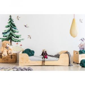 Detská posteľ z borovicového dreva Adeko Pepe Frida, 100 x 200 cm