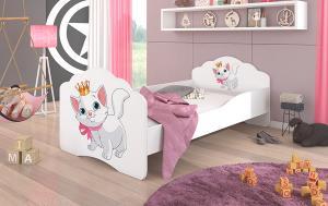 Detská postieľka 140x70 cm Mačička