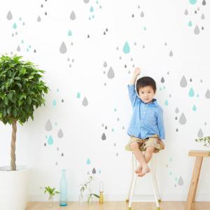 Detská šablóna na maľovanie - Kvapky