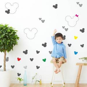 Detská šablóna na maľovanie - Mickey