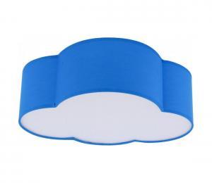 Detské stropné svietidlo CLOUD MINI 2xE27/60W/230V modrá