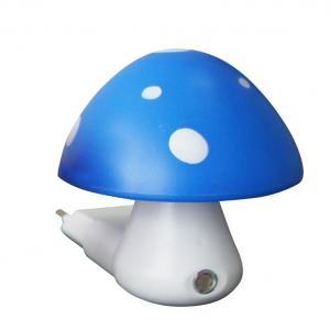 Detské svietidlo do zásuvky Huba, modrá farba