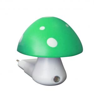 Detské svietidlo do zásuvky Huba, zelená farba