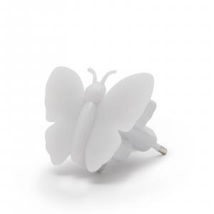 Detské svietidlo do zásuvky Motýlik