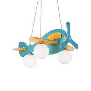 Detské svietidlo IDEAL LUX AVION -1 SP3 136325