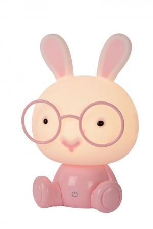 Detské svietidlo LUCIDE DODO Rabbit LED Ružová 71591/03/66