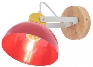 Detské svietidlo REDO EOLO červená E27 04-510