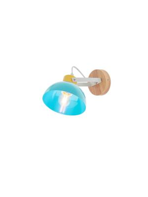 Detské svietidlo REDO EOLO modrá E27   04-511